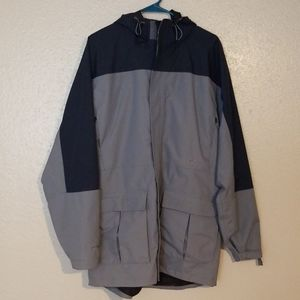 Cabelas Outdoor Dry-Plus hooded jacket Sz M TALL